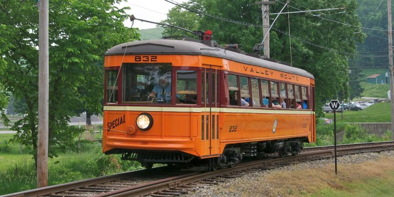 Cropped West Penn Railways Streetcar 832 On June 1 2018 Photo By Fred Schneider Iii