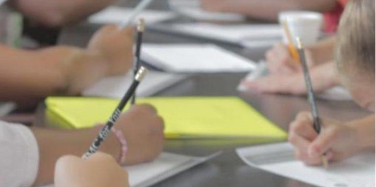Kids Writing Notes