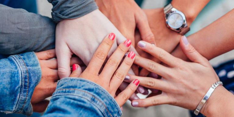 I Stock Girl Hands